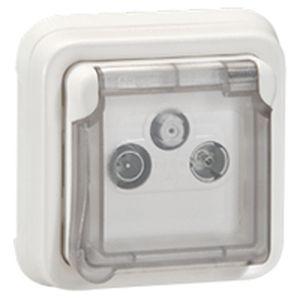 programme plexo composable ip 55 prises vdi adaptateurs legrand sur. Black Bedroom Furniture Sets. Home Design Ideas