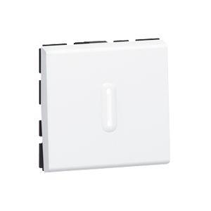 Переключатель на два направления со встроенным светодиодом (LED) Антибактериальный.