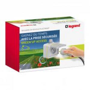 Prêt à poser Green'up Access - 1 prise 090471/1 patère 090478/1 disj diff 410754