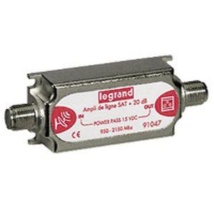 Centrales et amplificateurs tv sat pour installation - Amplificateur signal tv ...