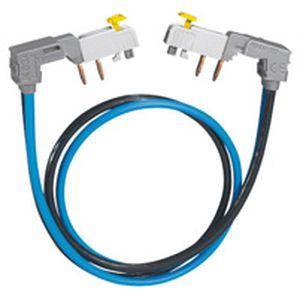 Cordon de repiquage à connexion auto  - section 2x16 mm² - 63 a