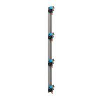 Peigne vertical VX³ - entraxe 125 mm - pour coffret 4 rangées