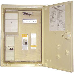 michaud p490 coffret de chantier pour branchement provisoire monophase 10 45a. Black Bedroom Furniture Sets. Home Design Ideas