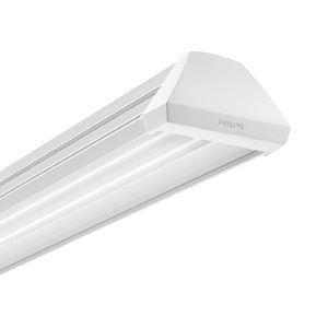 philips 049586 chemin lumineux tetrix tubes led r flecteur blanc duo finition blanc. Black Bedroom Furniture Sets. Home Design Ideas