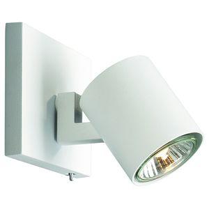 runner spot pat re blanc 1x50w gu10 philips 530903112. Black Bedroom Furniture Sets. Home Design Ideas