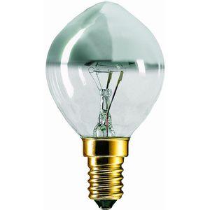 Philips 55408 - Lampe à incandescence, calotte argentée, finition ...