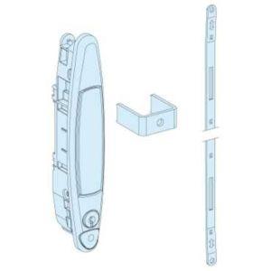 schneider electric 01225 porte pleine ip30 l800 sb. Black Bedroom Furniture Sets. Home Design Ideas