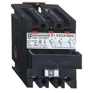 Schneider electric ls1d2531a65 corps de sectionneur fusible ls1 3p 25 a pour fusible nfc 10 x - Sectionneur porte fusible telemecanique ...