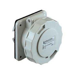 Schneider 82963 socle prise enc droit 16a 2p 24 48v ip67 courant continu - Socle prise de courant ...