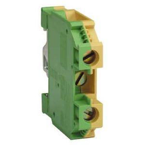 schneider electric bornier terre de protection vis 35 mm2 vert jaune schneider electric. Black Bedroom Furniture Sets. Home Design Ideas