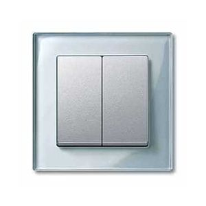 schneider electric mtn433560 enjoliveur m plan pour interrupteur double allumage aluminium. Black Bedroom Furniture Sets. Home Design Ideas