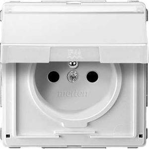 aquadesign blanc prise de courant 2p t ip44 volet de protection connex rapid schneider. Black Bedroom Furniture Sets. Home Design Ideas