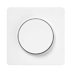 Odace Touch, plaque Blanc 1 poste