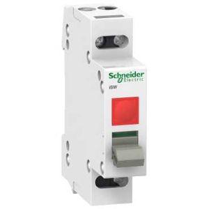 schneider electric a9s61220 acti9 isw interrupteur de commande voyant lumineux 230v 2p 20a. Black Bedroom Furniture Sets. Home Design Ideas