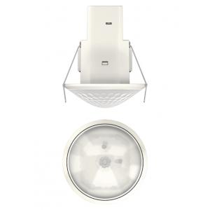 Détecteur De Mouvement Plafond theMova S360-100 DE - Blanc