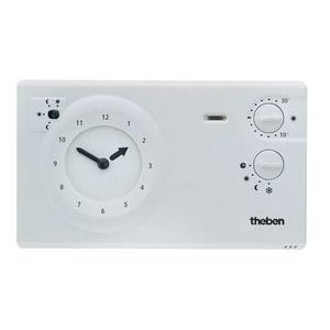 Thermostat d'ambiance programmable 2 3fils 24h 7j Ramses 784 r Theben