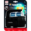 Varta projecteur c 4x inclues - led 3w - indestructible - 150lumens 350m