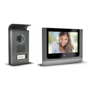 extel 720289 visiophone levo access cran tactile 18 cm m moire de passage. Black Bedroom Furniture Sets. Home Design Ideas