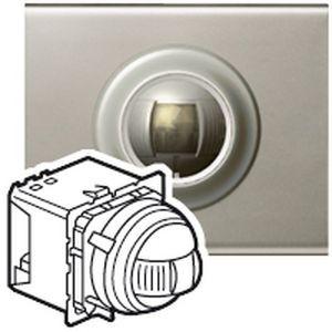 legrand 067502 d tecteur de pr sence c liane pour alarme intrusion filaire bus scs. Black Bedroom Furniture Sets. Home Design Ideas