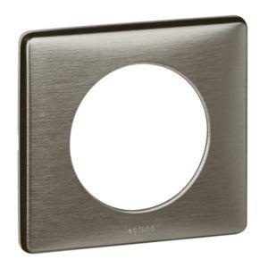 legrand 068971 plaque c liane m tal tungst ne 1 poste. Black Bedroom Furniture Sets. Home Design Ideas