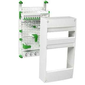 schneider electric vdir390033 schneider lexcom home coffret de communication grade 2 avec. Black Bedroom Furniture Sets. Home Design Ideas