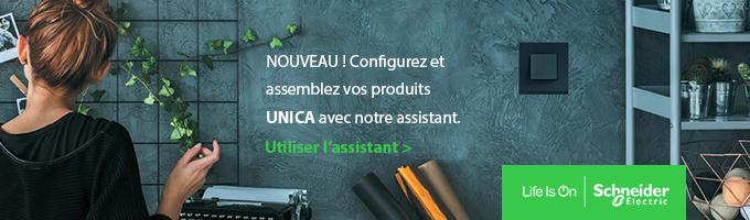 Configurateur d'appareillage mural Unica | Schneider Electric
